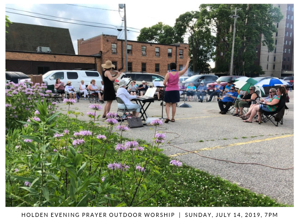190714 Holden Evening Prayer Outdoor Worship