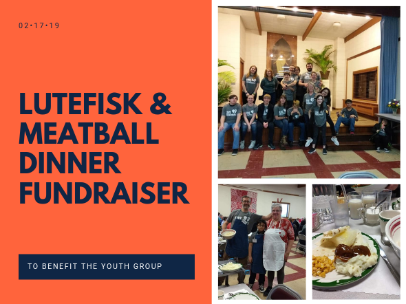 Lutefisk & Meatball Dinner Fundraiser
