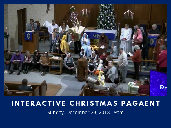 Web Interactive Christmas Pagaent 181223