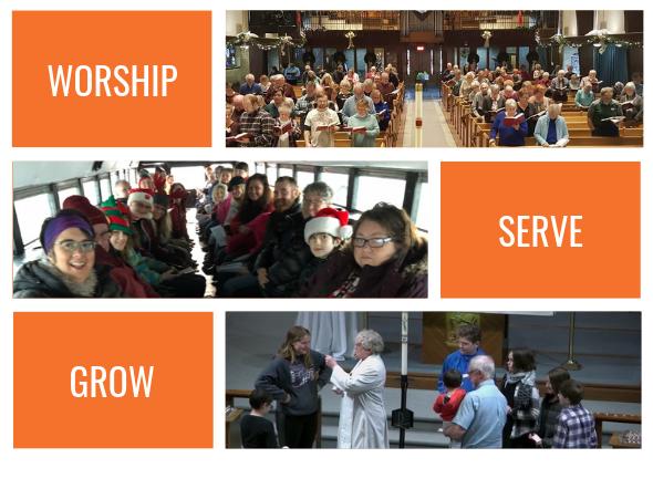 worship serve grow